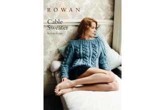 Rowan - Cable Sweater in Rowan Big Wool (downloadable PDF)