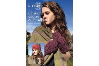 Rowan - Charlotte Gloves & Headband in Cocoon (downloadable PDF)