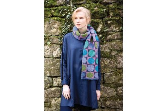 Rowan - Kaffe's Colours - Circle In A Square Scarf in Felted Tweed (downloadable PDF)