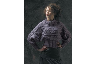 Rowan - The Cocoon Collection - Dany Sweater by Marie Wallin in Cocoon (downloadable PDF)