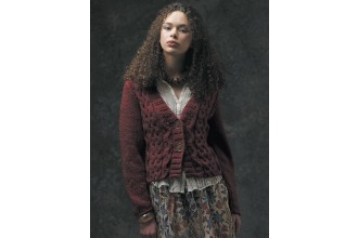Rowan - The Cocoon Collection - Elise Cardigan by Sarah Hatton in Cocoon (downloadable PDF)