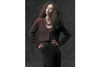 Rowan - The Cocoon Collection - Gigi Cropped Cardigan by Sarah Hatton in Cocoon (downloadable PDF)