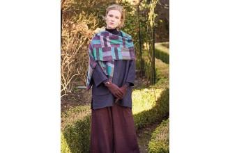 Rowan - Kaffe's Colours - Cool Weave Shawl in Felted Tweed (downloadable PDF)
