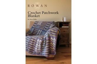 Rowan - Crochet Patchwork Blanket in Cocoon (downloadable PDF)