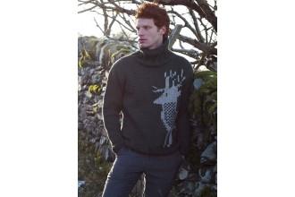 Rowan - Dalesmen - Hornshaw Sweater by Martin Storey in Big Wool (downloadable PDF)