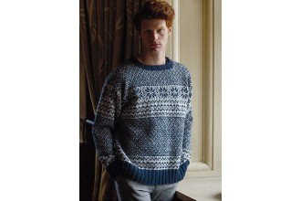 Rowan - Dalesmen - Maxfield Sweater by Martin Storey in Felted Tweed DK (downloadable PDF)