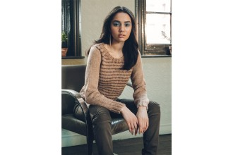 Rowan - Loves 5 - Darian Sweater in Kid Classic or Hemp Tweed (downloadable PDF)