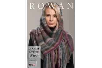 Rowan - Earth Stripe Wrap in Kidsilk Haze (downloadable PDF)