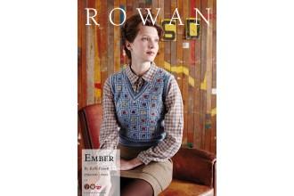 Rowan - Ember Vest in Kid Classic, Felted Tweed (downloadable PDF)