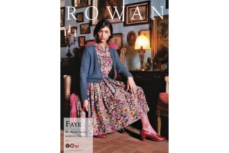 Rowan - Fayne Cardigan in Kidsilk Haze (downloadable PDF)