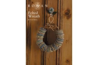Rowan - Felted Wreath in Rowan Kid Classic (downloadable PDF)