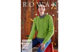 Rowan - Gelato Jumper in Pure Wool Superwash Worsted (downloadable PDF)