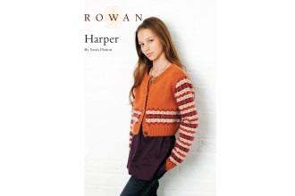 Rowan - Harper Jacket in Kid Classic (downloadable PDF)