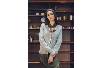 Rowan - Loves 5 - Hebron Sweater and Cardigan in Kid Classic or Hemp Tweed (downloadable PDF)
