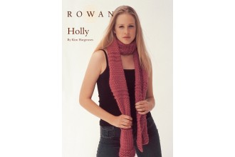 Rowan - Holly Scarf in Rowan Big Wool (downloadable PDF)