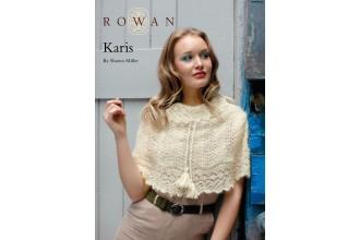 Rowan - Karis Cape in Kidsilk Haze (downloadable PDF)