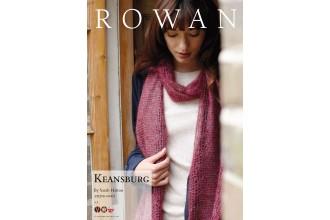 Rowan - Keansburg Scarf in Kidsilk Haze Vintage (downloadable PDF)