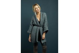 Rowan - Chunky Knits - Lara Longline Cardigan in Big Wool (downloadable PDF)