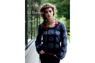 Rowan - La Traviata Jumper in Fine Lace, Kidsilk Haze (downloadable PDF)