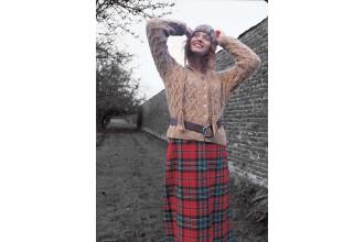 Rowan -  Lichen Cardigan by Lisa Richardson in Kid Classic (downloadable PDF)