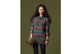 Rowan - Knitting and Crochet Magazine No. 48 - Anastasiya Fairisle Vest by Marie Wallin in Felted Tweed DK (downloadable PDF)