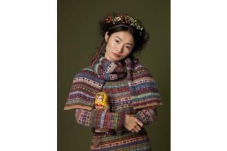 Rowan - Knitting and Crochet Magazine No. 48 - Lidiya Scarf by Kaffe Fassett in Felted Tweed DK (downloadable PDF)