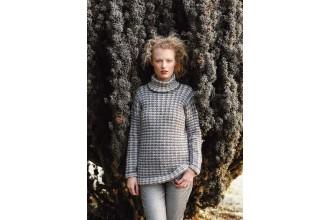 Rowan - Magazine No. 58 - Gale Sweater by Gemma Atkinson in Felted Tweed DK (downloadable PDF)