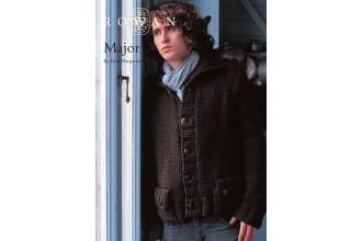Rowan - Major Cardigan in Rowan Big Wool (downloadable PDF)
