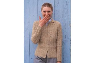 Rowan -  Martha Cardigan by Kim Hargreaves in Felted Tweed DK (downloadable PDF)