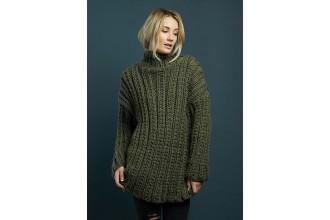 Rowan - Chunky Knits - Mia Sweater in Big Wool (downloadable PDF)