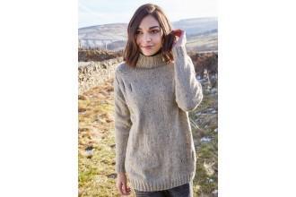 Rowan - Around Holme - Millthorpe Sweater in Felted Tweed (downloadable PDF)