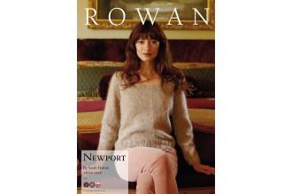 Rowan - Newport Jumper in Kidsilk Haze Vintage (downloadable PDF)