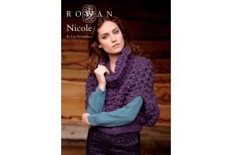 Rowan - Nicole Cropped Poncho in Kid Classic (downloadable PDF)