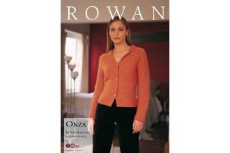Rowan - Onza Cardigan in Kid Classic (downloadable PDF)