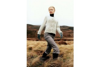 Rowan -  Oslo Sweater by Sarah Hatton in Cocoon (downloadable PDF)