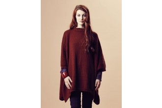 Rowan - Pure Wool Worsted Autumn - Christie Poncho by Marie Wallin in Pure Wool Superwash Worsted (downloadable PDF)