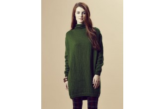 Rowan - Pure Wool Worsted Autumn - Jaime Jumper Dress by Marie Wallin in Pure Wool Superwash Worsted (downloadable PDF)