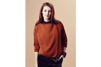 Rowan - Pure Wool Worsted Autumn - Kyle Sweater by Marie Wallin in Pure Wool Superwash Worsted (downloadable PDF)