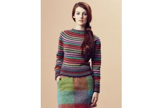 Rowan - Pure Wool Worsted Autumn - Lexy Sweater by Marie Wallin in Pure Wool Superwash Worsted (downloadable PDF)