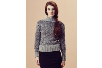 Rowan - Pure Wool Worsted Autumn - Shona Sweater by Marie Wallin in Pure Wool Superwash Worsted (downloadable PDF)