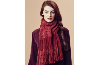 Rowan - Pure Wool Worsted Autumn - Shona Scarf by Marie Wallin in Pure Wool Superwash Worsted (downloadable PDF)