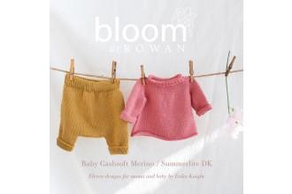 Bloom at Rowan - Baby Cashsoft Merino and Summerlite DK by Erika Knight (book)