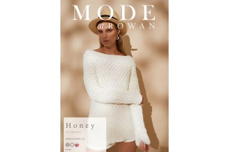 Rowan - MODE at Rowan Collection Four - Honey - Sweater by Jen Geigley in Cotton Cashmere (downloadable PDF)