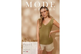 Rowan - MODE at Rowan Collection Four - Pearl - Top by Quail Studio in Summerlite DK (downloadable PDF)