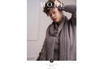 Rowan - MODE at Rowan Collection Five - Mae - Scarf by Chloe Thurlow in Kid Classic (downloadable PDF)