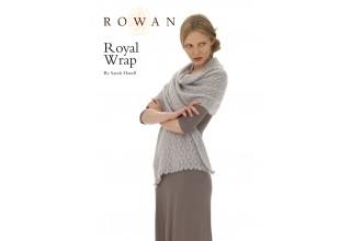 Rowan - Royal Wrap in Fine Lace, Kidsilk Haze (downloadable PDF)