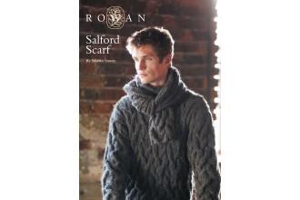Rowan - Salford Scarf in Cocoon (downloadable PDF)