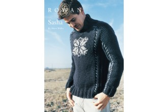 Rowan - Sasha Jumper in Big Wool (downloadable PDF)