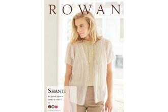 Rowan - Shanti Cardigan in Kidsilk Haze (downloadable PDF)