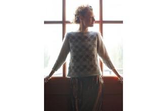 Rowan -  Sleet Sweater by Marie Wallin in Felted Tweed, and Kidsilk Haze (downloadable PDF)